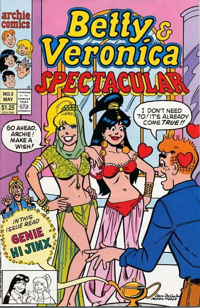 Betty and Veronica - Spectacular (fragment 1)